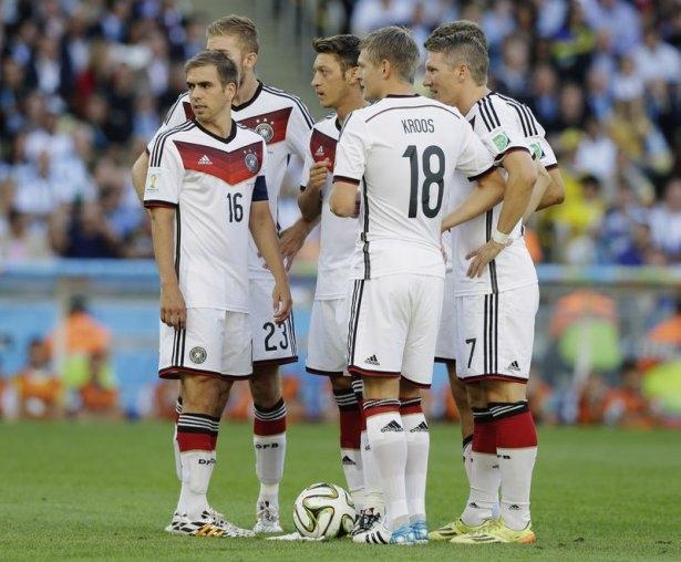 Almanya-Arjantin FİNAL maçı 16