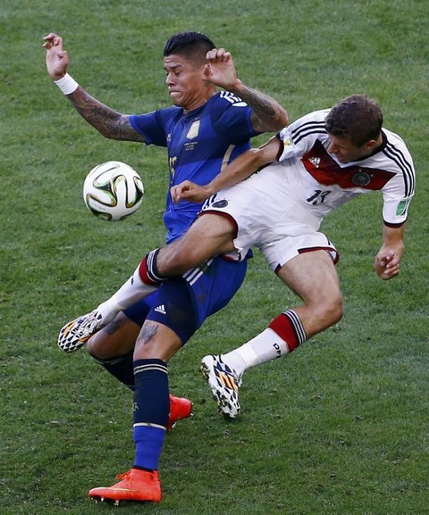 Almanya-Arjantin FİNAL maçı 6