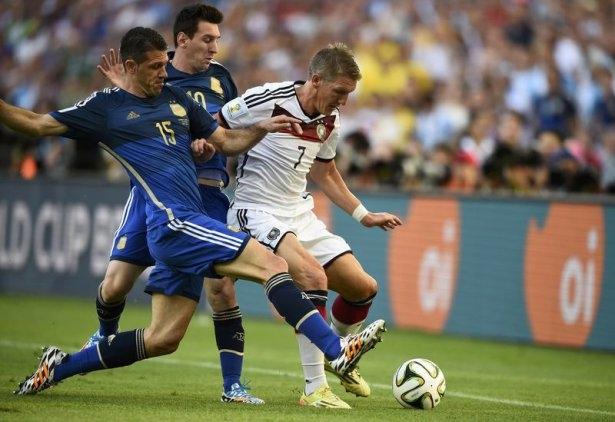 Almanya-Arjantin FİNAL maçı 9