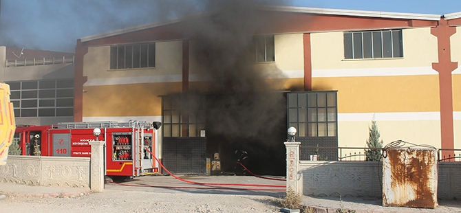 Fabrikada patlama: 1 yaralı 1