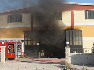 Fabrikada patlama: 1 yaralı