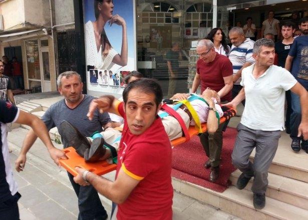 İHH'nın iftar TIR'ına Hopa'da çirkin saldırı 9