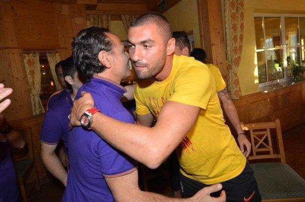 Galatasaray'da sürpriz doğum günü 1