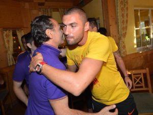 Galatasaray'da sürpriz doğum günü