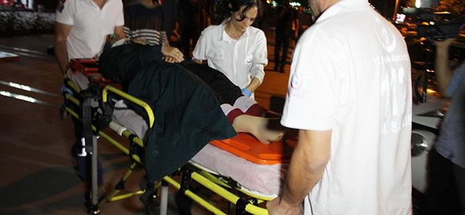 Yaralanan annesinin yanından hiç ayrılmadı 3