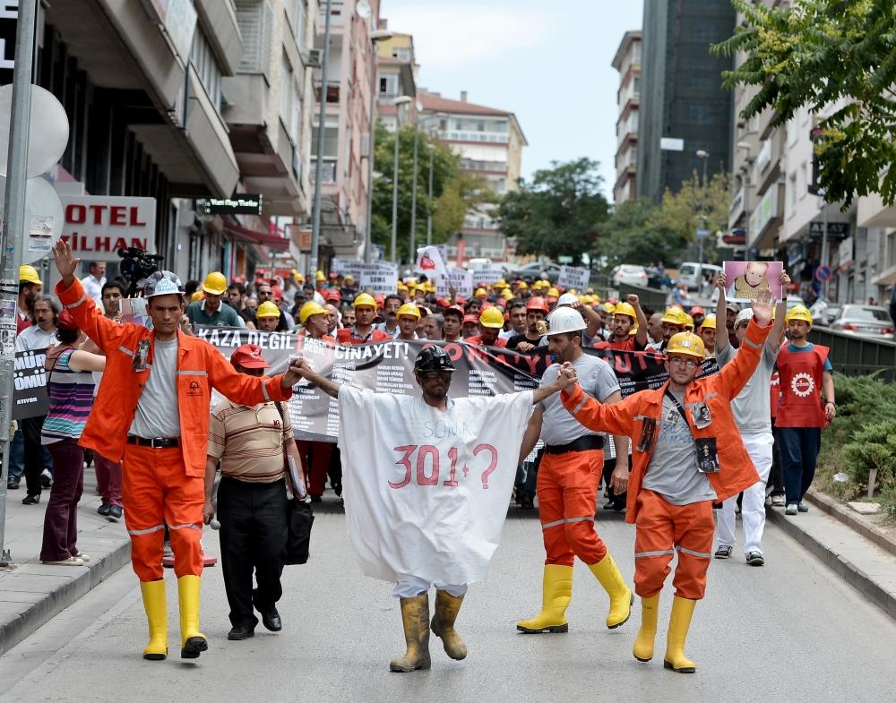 Somalı Madenciler Ankara'da 2