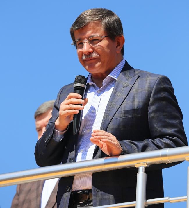 Dışişleri Bakanı Davutoğlu Konya'da 1