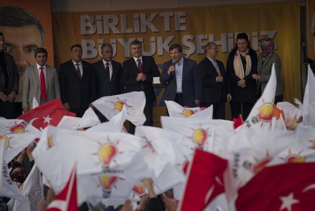 Dışişleri Bakanı Davutoğlu Konya'da 10