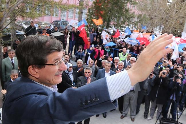Dışişleri Bakanı Davutoğlu Konya'da 16