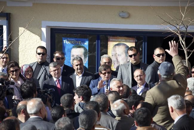 Dışişleri Bakanı Davutoğlu Konya'da 18