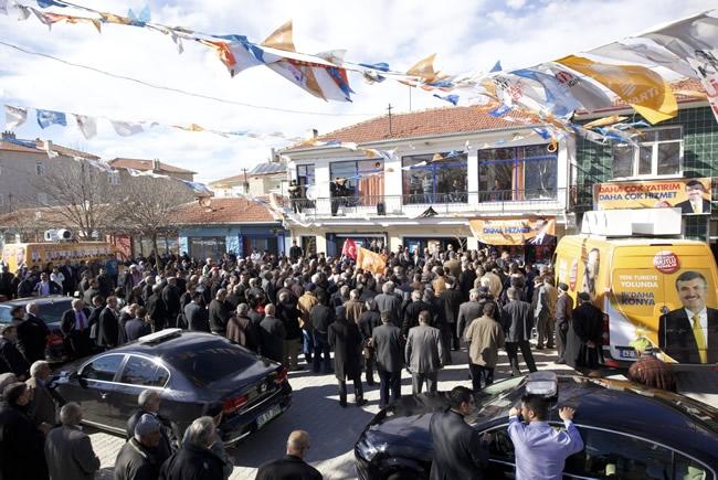 Dışişleri Bakanı Davutoğlu Konya'da 20