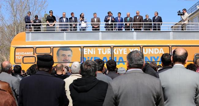 Dışişleri Bakanı Davutoğlu Konya'da 4
