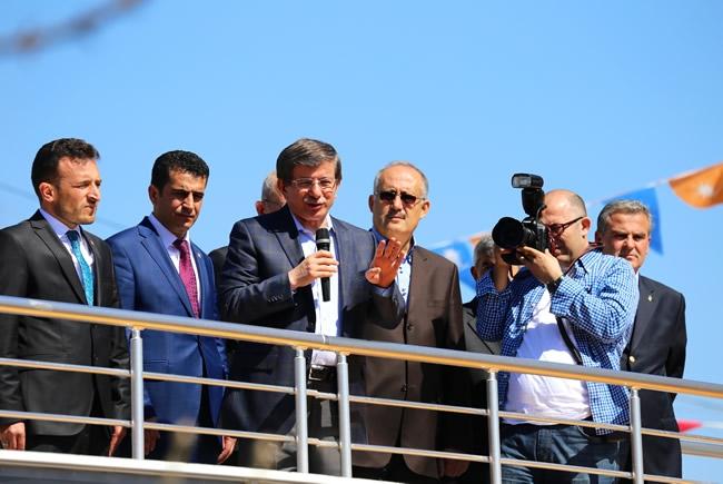 Dışişleri Bakanı Davutoğlu Konya'da 5