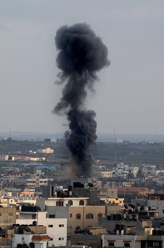 Kare kare Gazze'de İsrail katliamı 21