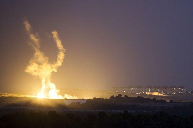 Kare kare Gazze'de İsrail katliamı 9