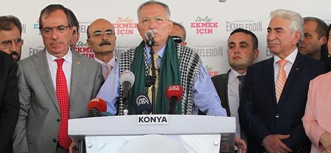 Ekmeleddin İhsanoğlu Konya'ya geldi 14