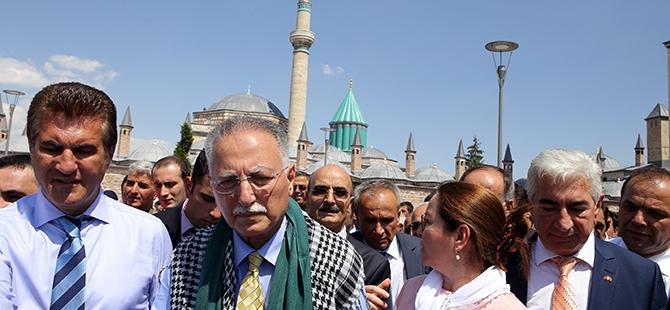 Ekmeleddin İhsanoğlu Konya'ya geldi 22