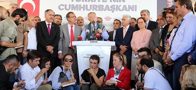 Ekmeleddin İhsanoğlu Konya'ya geldi 26