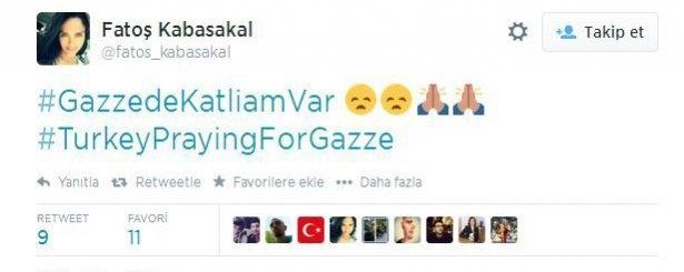 Ünlülerden Gazze'ye destek: Şerefsizler 18