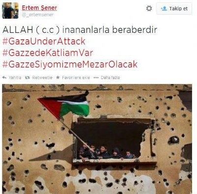 Ünlülerden Gazze'ye destek: Şerefsizler 21
