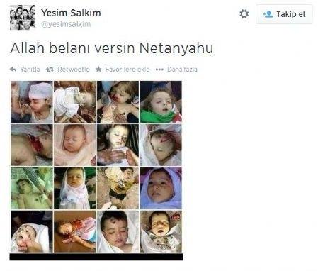 Ünlülerden Gazze'ye destek: Şerefsizler 27