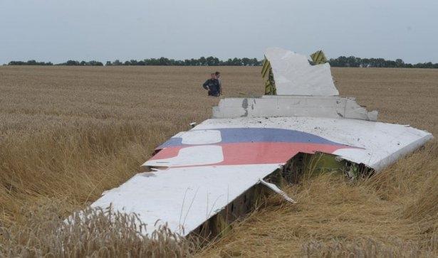 Ukrayna'da düşen yolcu uçağından görüntüler 12