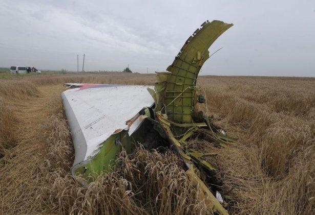 Ukrayna'da düşen yolcu uçağından görüntüler 18