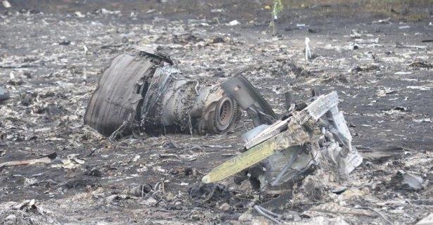 Ukrayna'da düşen yolcu uçağından görüntüler 2