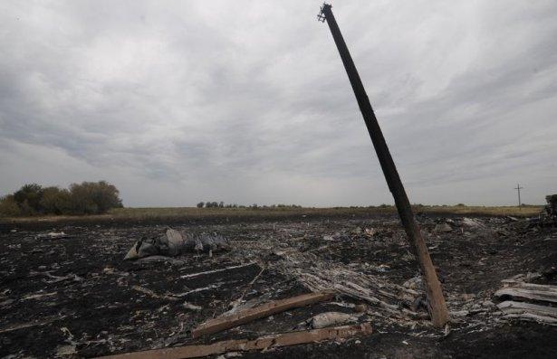 Ukrayna'da düşen yolcu uçağından görüntüler 20