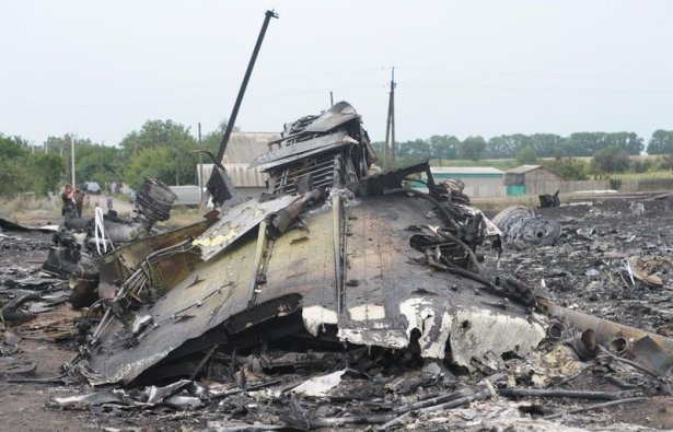 Ukrayna'da düşen yolcu uçağından görüntüler 21