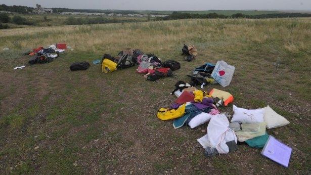 Ukrayna'da düşen yolcu uçağından görüntüler 8