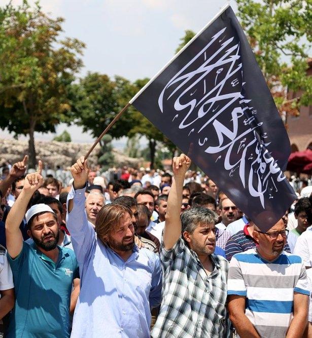 Yüzbinler Gazze için sokaklara döküldü 26