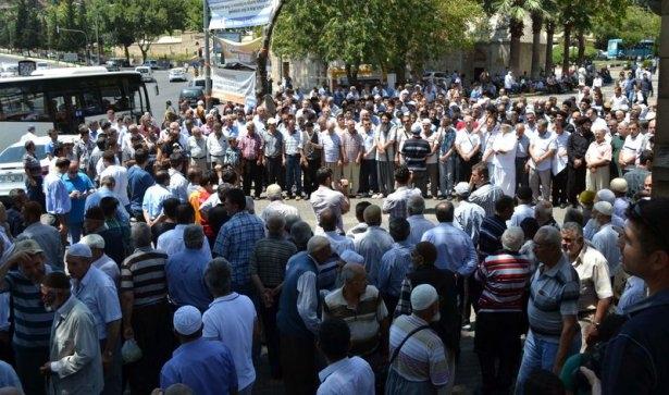 Yüzbinler Gazze için sokaklara döküldü 31