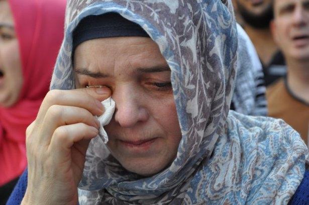 Yüzbinler Gazze için sokaklara döküldü 8