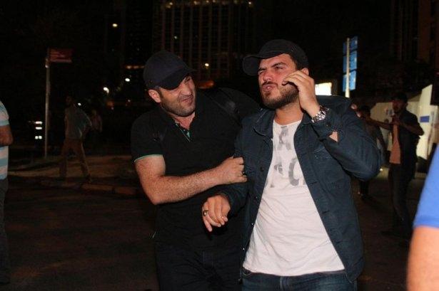 İstanbul'da binlerce kişi İsrail'i lanetledi 5