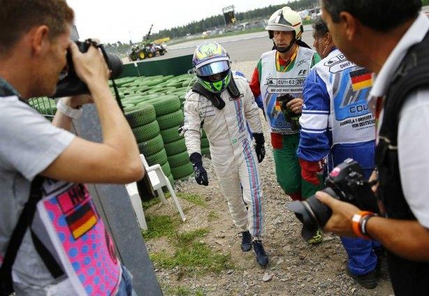 Formula 1'de feci kaza! 13