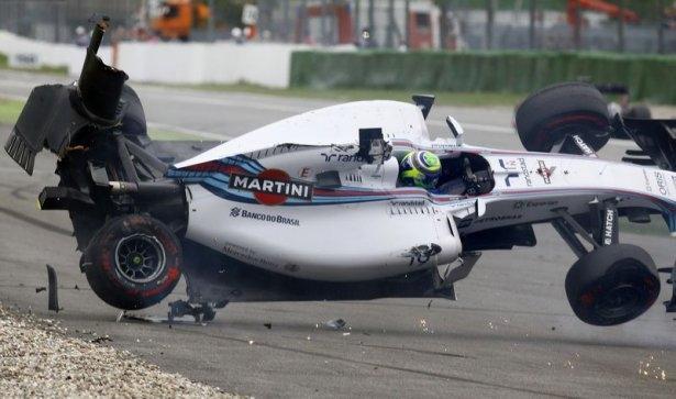 Formula 1'de feci kaza! 2