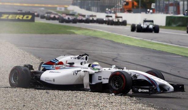 Formula 1'de feci kaza! 8