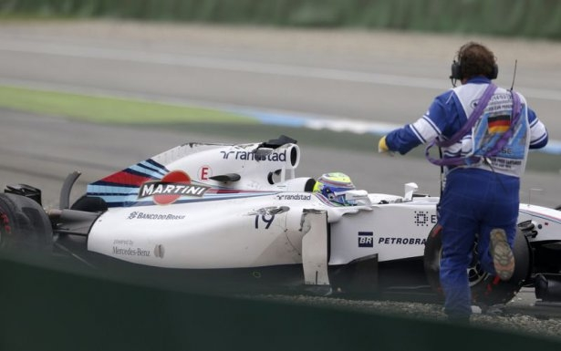 Formula 1'de feci kaza! 9
