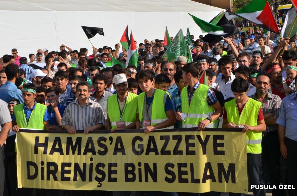 Konya'daki GAZZE mitingi 11