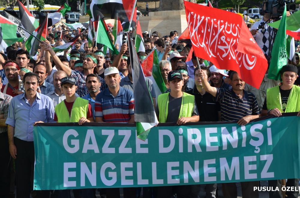 Konya'daki GAZZE mitingi 12