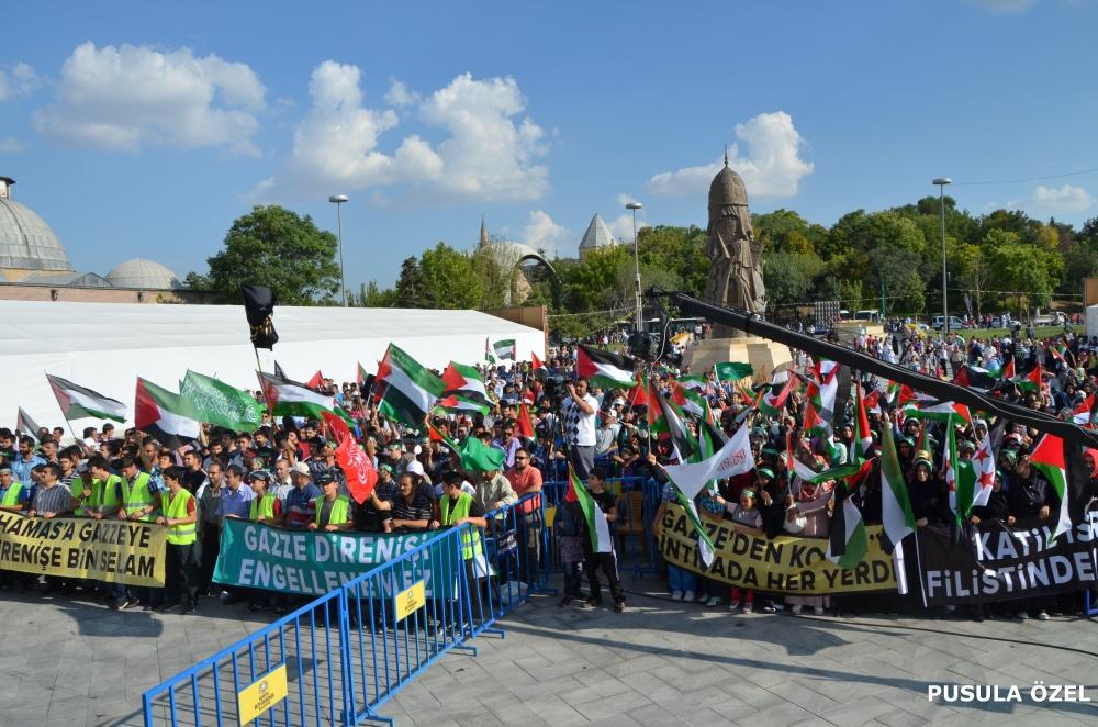 Konya'daki GAZZE mitingi 14