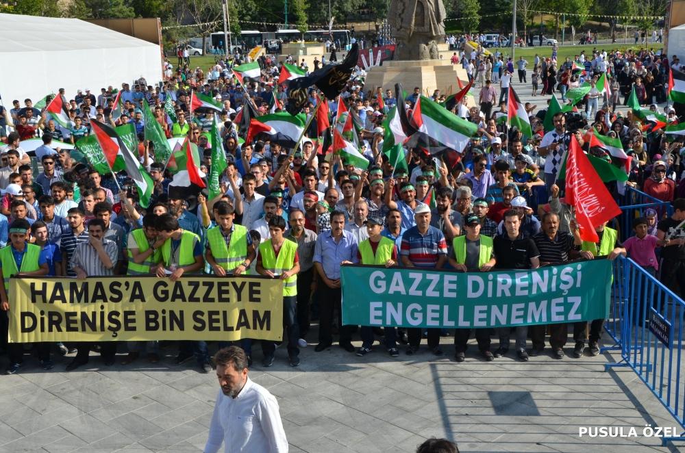 Konya'daki GAZZE mitingi 15