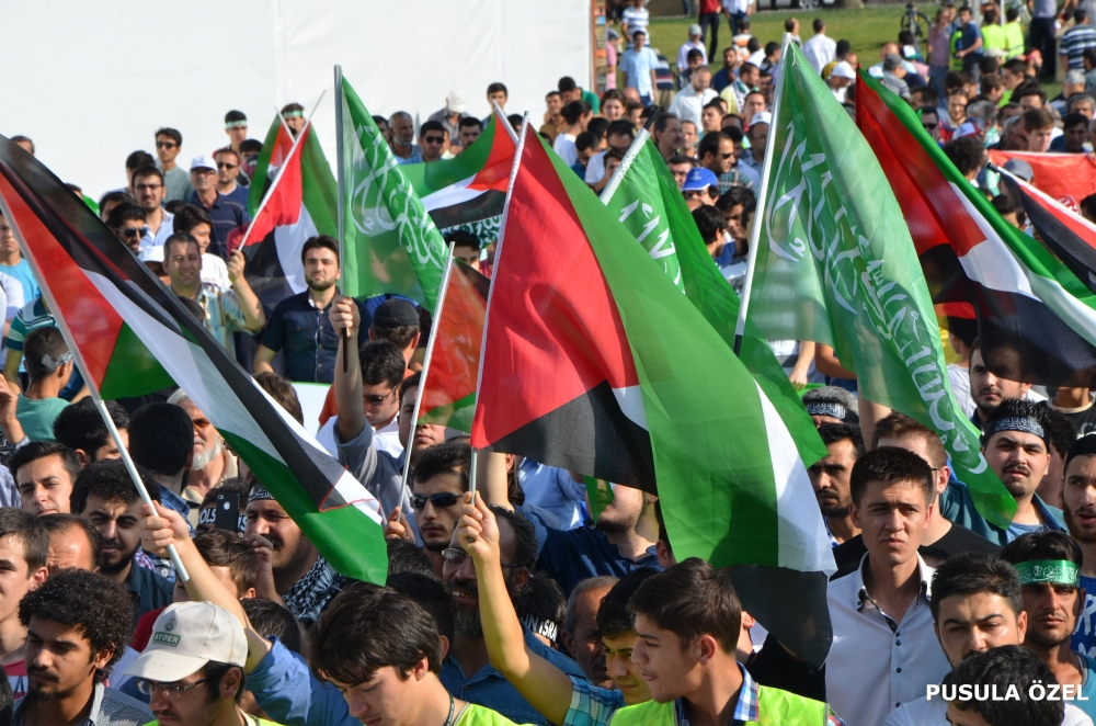 Konya'daki GAZZE mitingi 16