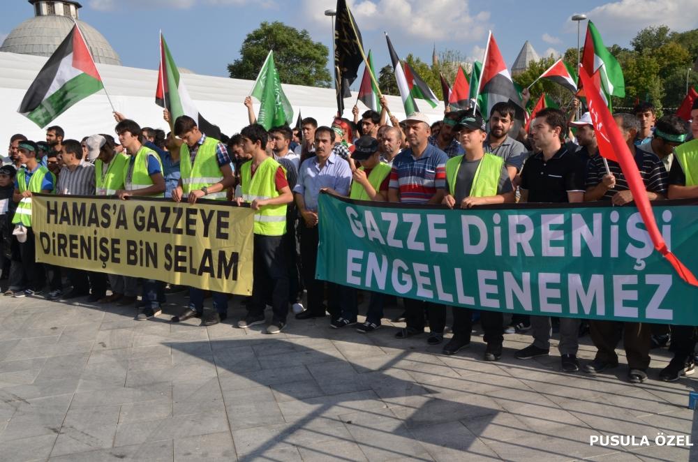 Konya'daki GAZZE mitingi 19