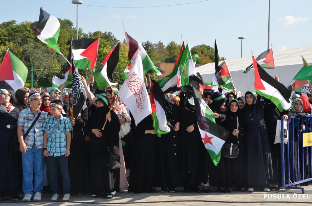 Konya'daki GAZZE mitingi 2