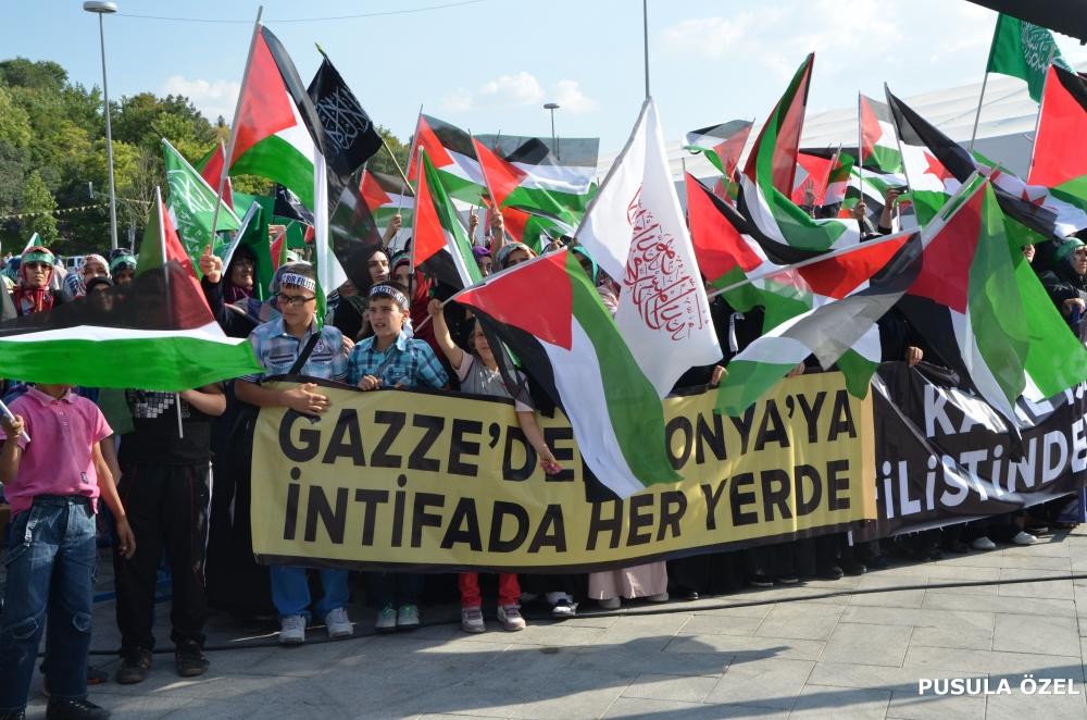 Konya'daki GAZZE mitingi 20