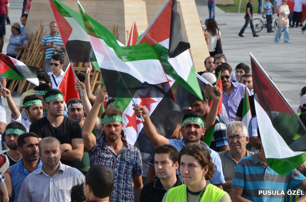 Konya'daki GAZZE mitingi 5