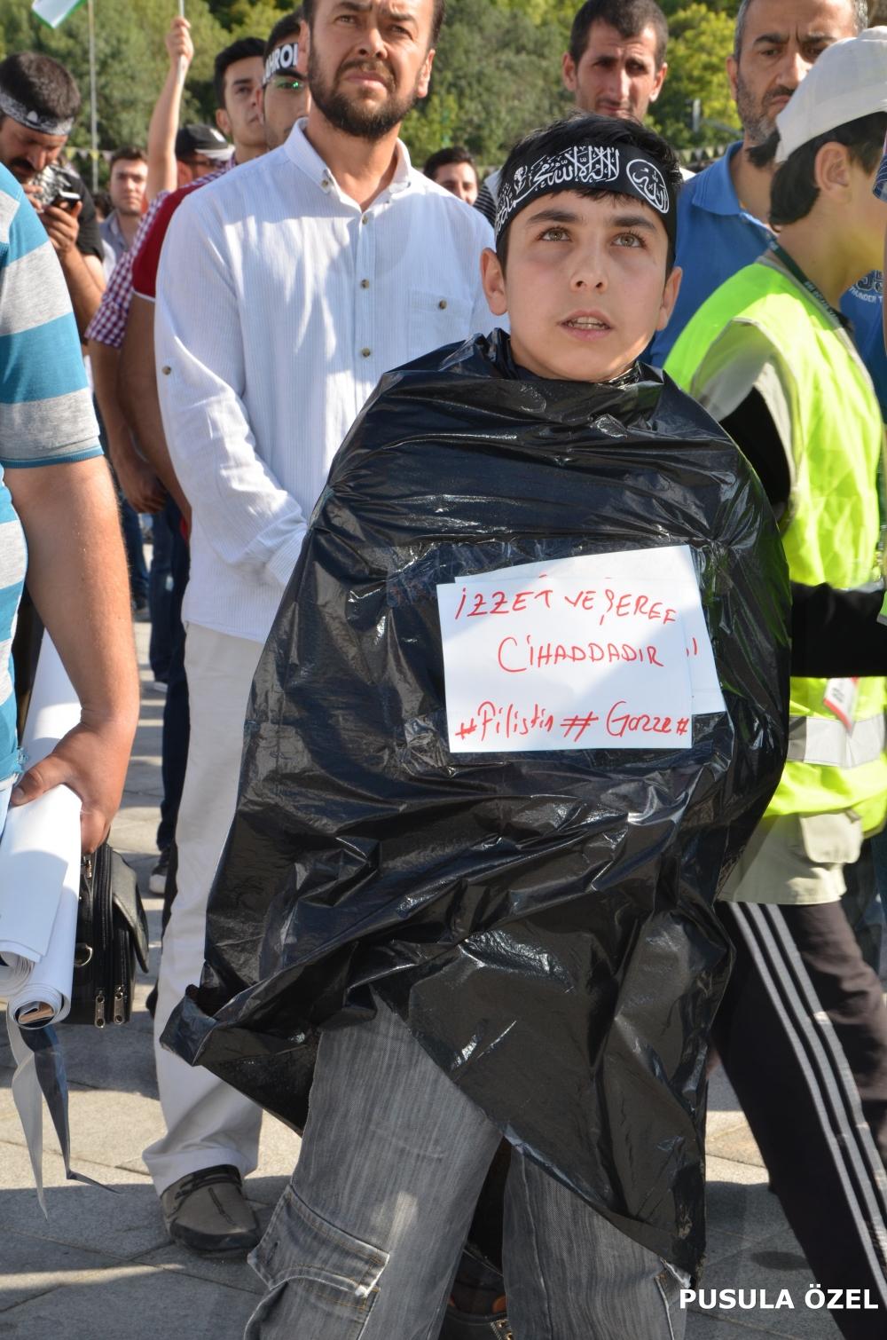 Konya'daki GAZZE mitingi 6