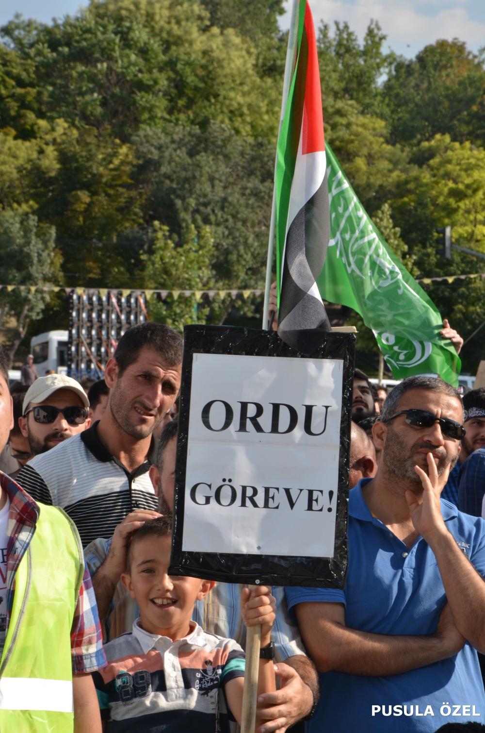 Konya'daki GAZZE mitingi 8